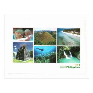 CARTE POSTALE ÎLES DE PHILIPPINES BOHOL