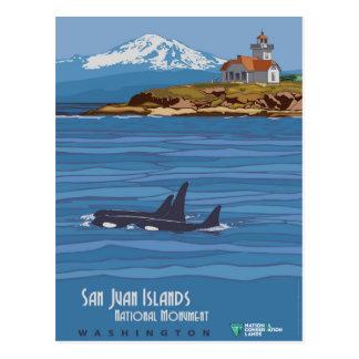 Carte Postale Îles de San Juan