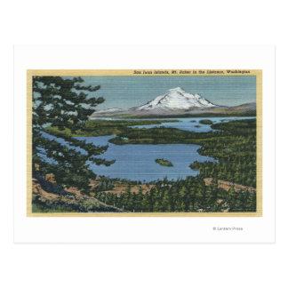Carte Postale Îles de San Juan, Washington 2