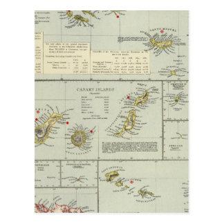 Carte Postale Îles, l'Océan Atlantique