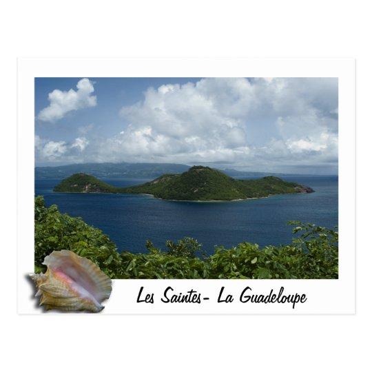 Carte Postale Ilets cabri- Les Saintes- Guadeloupes