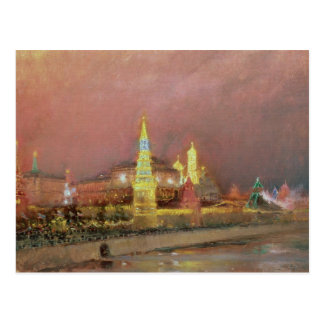 Carte Postale Illumination dans Kremlin, 1896