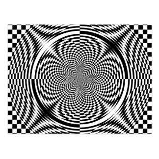 Carte Postale Illusions optiques