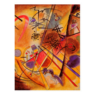 Carte Postale Illustration abstraite de Kandinsky