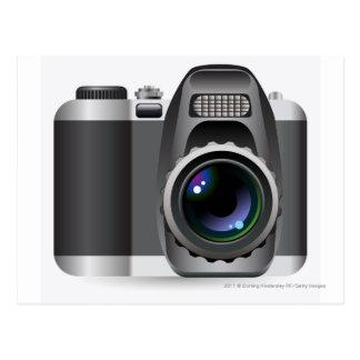 Carte Postale Illustration de Digitals d'appareil photo