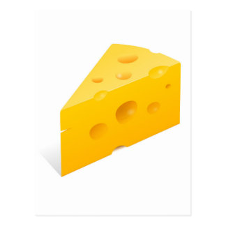 Carte Postale Illustration de fromage