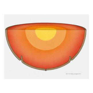 Carte Postale Illustration de la représentation de l'intérieur