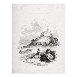 Carte Postale Illustration de page titre de 'David