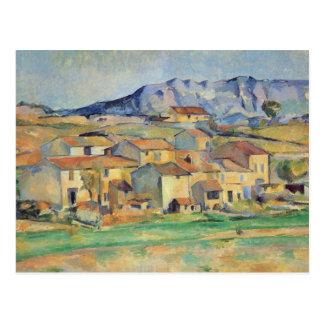Carte Postale Illustration de Paul Cezanne