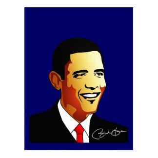 Carte Postale Illustration de vecteur de Barack Obama