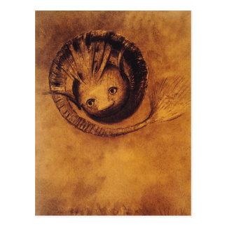 Carte postale : Illustration symboliste : La