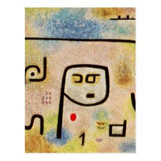 Carte Postale Îlot Dulcamara par Paul Klee