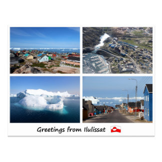 Carte postale Ilulissat