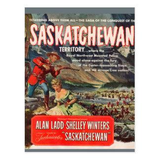Carte Postale Image d'affiche de film de Saskatchewan