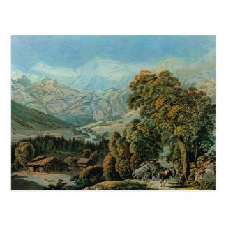 Carte Postale Image de cru de la Suisse, Adelboden