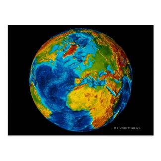 Carte Postale Image de la terre 2