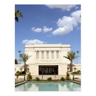 Carte Postale image de mormon de temple de MESA Arizona de lds