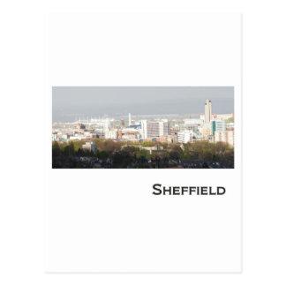 Carte Postale Image de paysage de Sheffield