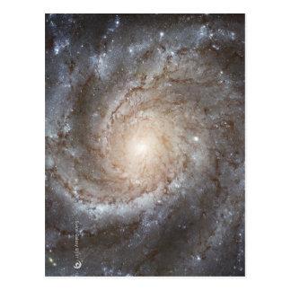 Carte Postale Image galactique de Hubble sur des produits de