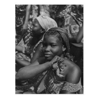 Carte Postale Image vintage, Afrique, Madame du Togo