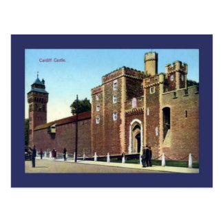 Carte Postale Image vintage de reproduction, château de Cardiff