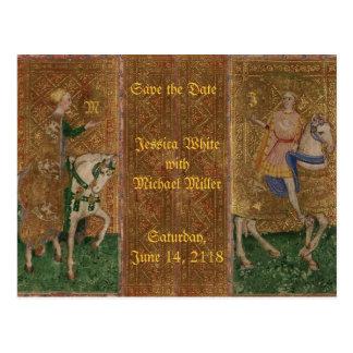 Carte Postale Imaginaire historique de la Renaissance médiévale