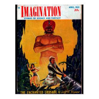 Carte Postale Imagination - art 1953-4_Pulp