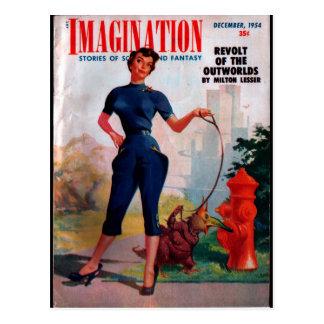 Carte Postale Imagination - art 1954-12_Pulp