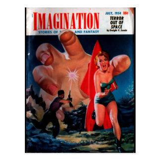 Carte Postale Imagination - art 1954-7_Pulp