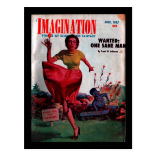 Carte Postale Imagination - art 1955-6_Pulp