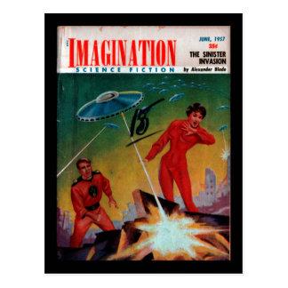Carte Postale Imagination - art 1957-06_Pulp