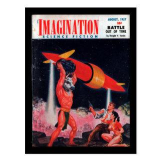Carte Postale Imagination - art 1957-08_Pulp
