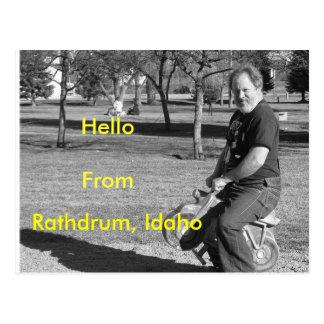Carte Postale IMG_0034-4, Rathdrum, Idaho, HelloFrom