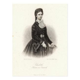 Carte Postale Impératrice Elisabeth de l'Autriche