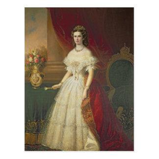 Carte Postale Impératrice Elizabeth de la Bavière, 1863