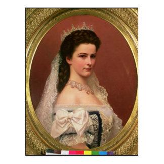 Carte Postale Impératrice Elizabeth de la Bavière dans le
