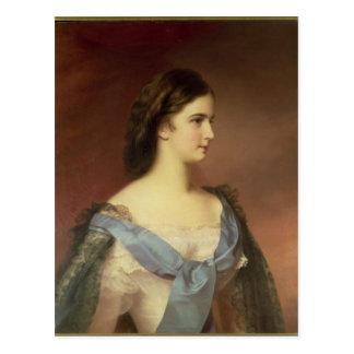 Carte Postale Impératrice Elizabeth de la Bavière en tant que