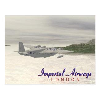 Carte Postale Imperial Airways