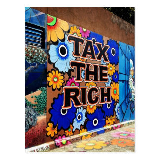 Carte Postale Imposez les riches - San Francisco
