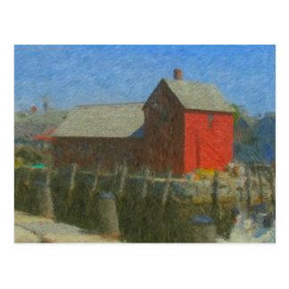 Carte Postale Impressionniste du motif #1