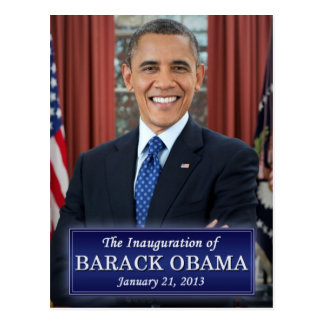 Carte Postale Inauguration 2013 de Barack Obama