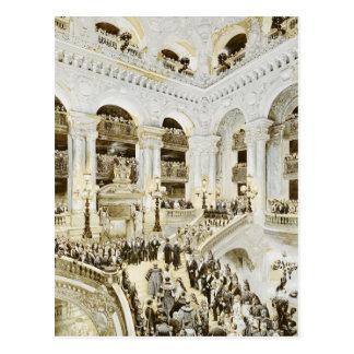 Carte Postale Inauguration du théatre de l'opéra de Paris