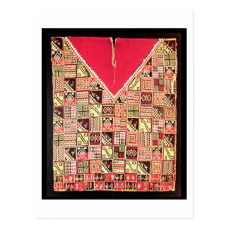 "Carte Postale Inca ""poncho"", la Bolivie, c.1500 (laine)"