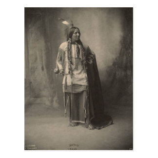 Carte Postale Indien vintage : Six orteils, Kiowa -