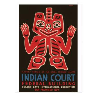 Carte Postale Indiens de Haida
