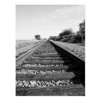 Carte postale infinie de chemin de fer
