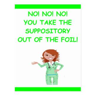 Carte Postale infirmières