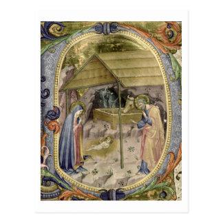"""Carte Postale Initiale """"P"""" De de Corale/Graduale no.5"""