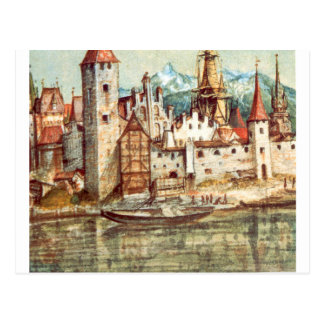 Carte Postale Innsbruck par Albrecht Durer