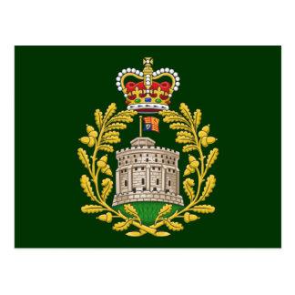 Carte Postale Insigne de la Chambre de Windsor